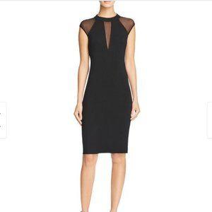 Bailey 44 Watch Me Mesh Inset Sleeveless Dress - S
